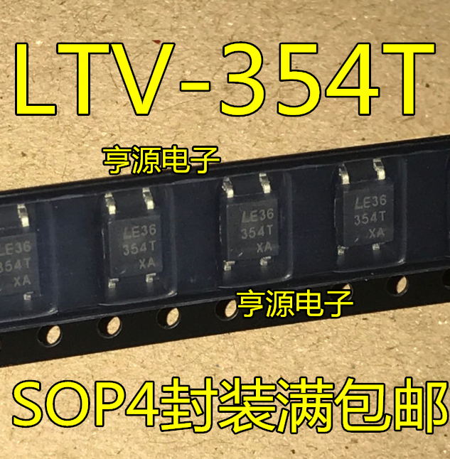 10 piezas LTV-354 LTV-354T SOP4 354T