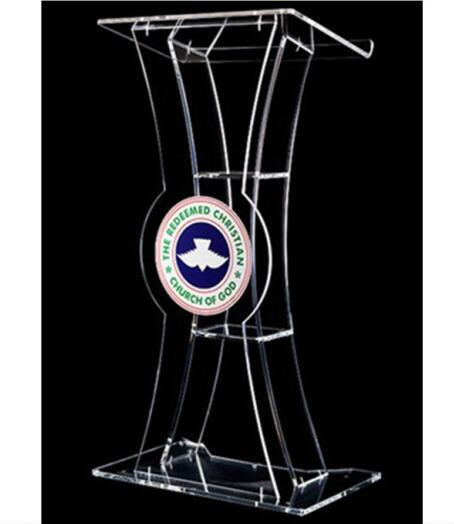Acrylic Desktop Church Lectern Church Pulpits And Lecterns Decoration Table Furniture Minister's Desk Plexiglass