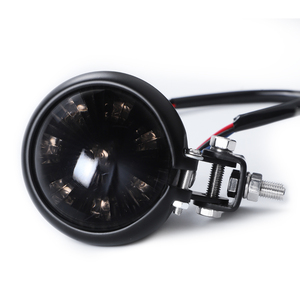 Image 4 - אופנוע זנב אור אדום LED קפה רייסר סגנון להפסיק זנב אור אופנוע בלם אחורי מנורת טאיליט עבור פר Bobber 12V