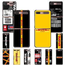 Dhl Express Cover Voor Samsung Galaxy Z Flip 5G Black Opvouwbare Hard Pc Telefoon Case Zflip 6.7