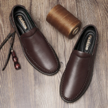 2020 Mens Formal Shoes Genuine Leather Loafers Shoes for Men Italian Dress Shoes Wedding Shoes Laces Leather Brogues Dad Shoes *
