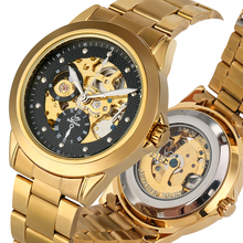 Exquisite Stainless Steel Strap Watch for Men Automatic-self-winding Mechanical Watches Black Dial Wristwatch relogio automatico shenhua mens steampunk skeleton watch men gold automatic mechanical watches self winding wristwatch relogio automatico masculino