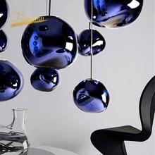 Modern LED Pendant Lights Living Room Decoration Loft Glass Lamp Bedroom Decor Kitchen Hanging Lamps Light Fixtures