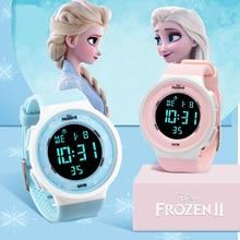 Clock Kid Wrist-Watches Rubber-Strap Girls Gift Digital Waterproof Electronic Children