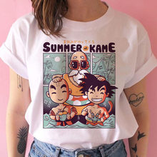 Bonito z super t camisa feminina filho goku dbz vegeta hip hop tshirt dos desenhos animados engraçado anime japonês gráfico camiseta feminino roupas brancas
