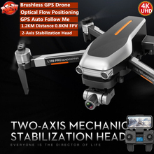Professional 2-Axis Gimbal WIFI FPV RC Quadcopter 5G 1.2KM 25MIN GPS Optical Flow Positioning Follow