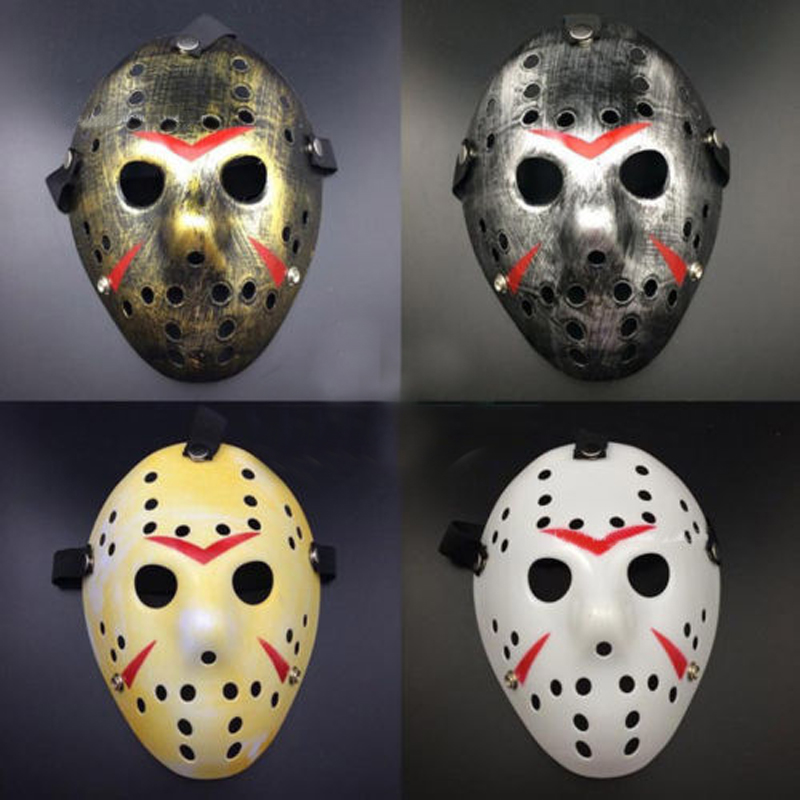 Halloween Mask Top Seller .Friday The 13th. Scary Hockey Mask Jason VS Freddy Costume Accessory