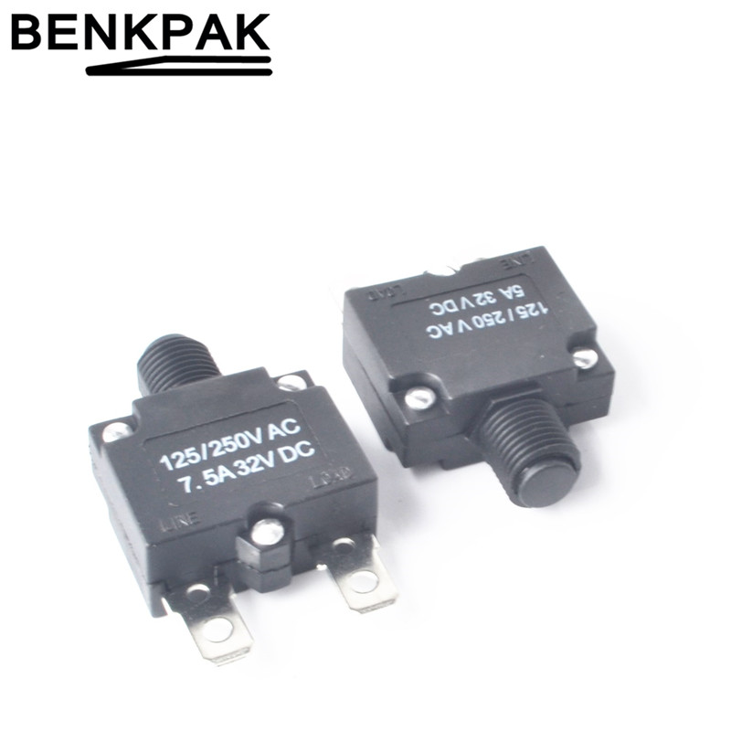 2pcs thermal switch circuit breaker overload protector overload switch PocdaP ne