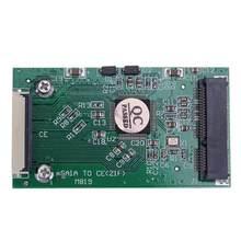 Mini SATA mSATA PCI-E SSD na 40pin 1.8 cala ZIF CE konwerter karta dla ipoda IPAD dla Toshiba dla Hitachi ZIF CE HDD dysk twardy nowy