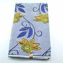 Африканская Цветочная печать DIY Дашики воск Женская высококачественная ткань