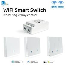 eWeLink WIFI Smart Light Switch RF433 & WIFI Wireless Switch RF Transmitter Receiver