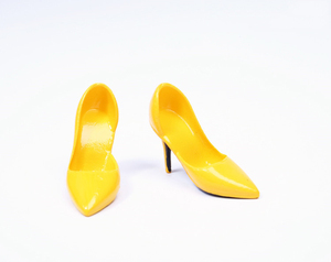 Image 5 - 1/6 Scale Female Shoes Soft High heel Shoes For Phicen JIAOU Doll Action Figures Accessories