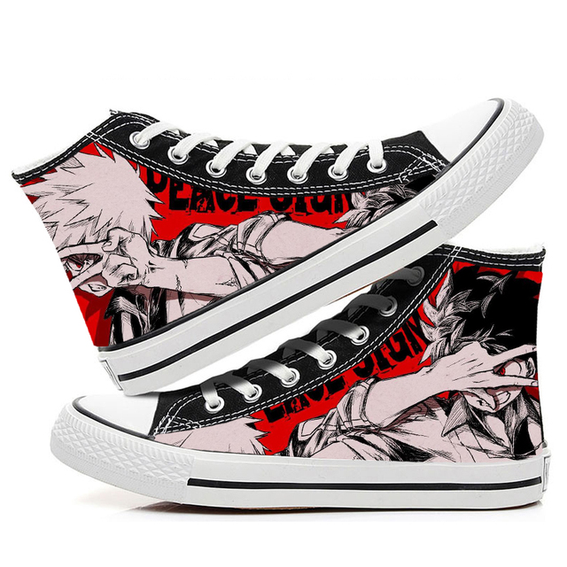MY HERO ACADEMIA HIGH TOP SHOES (12 VARIAN)