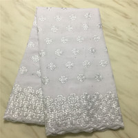 Wholesale High Quality Swiss Voile Lace In Switzerland Pretty whiteSwiss Voile Laces For African Sewing Dress