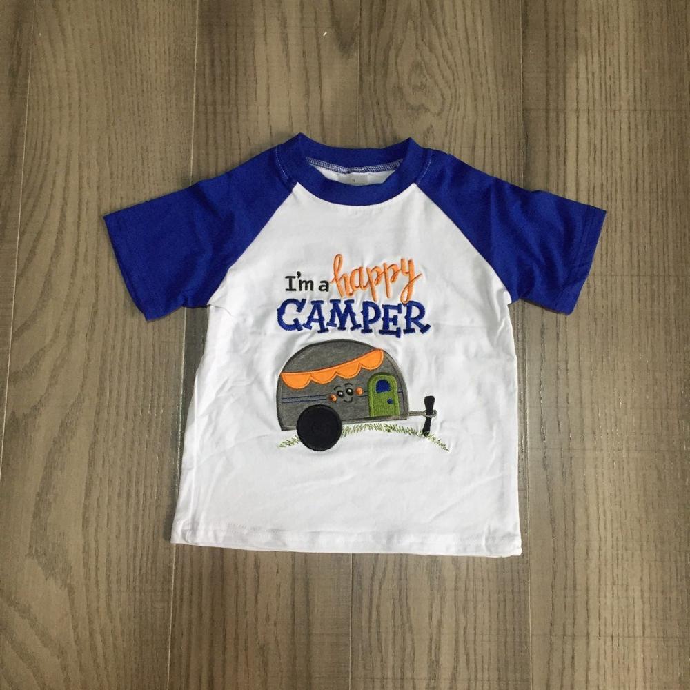 Baby Boys Clothes Kids Camper T-shirts Boys Summer Shirts