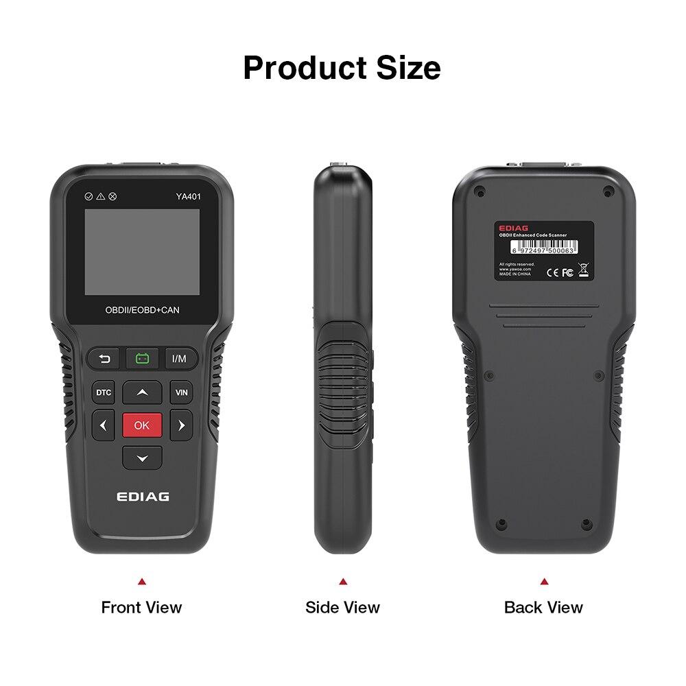 Funções de verificação da bateria PK KW850