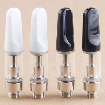 1Pcs CC-ELL tank Cartridges Ceramic coil cbd oil cartridge 1ml 0.5ml 510 Thread Thick Oil Dab Pen Wax Vaporizer Cart Atomizer image
