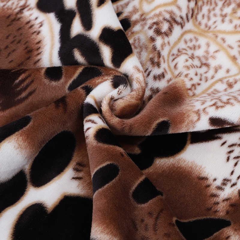 28 màu Mùa Đông ấm đan vòng khăn dày nữ Thời Trang họa tiết da báo Khăn choàng nữ khăn choàng cho mùa thu nữ cổ ấm áp