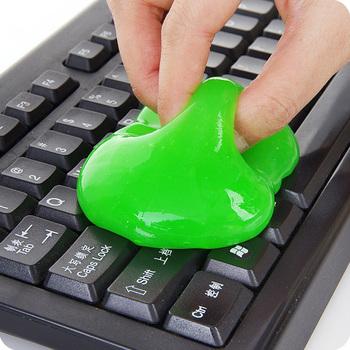 Środek czyszczący do klawiatury uniwersalne czyszczenie żel do tablet klawiatury do laptopów otwory w samochodzie aparatów fotograficznych drukarek kalkulatory tanie i dobre opinie Ekologiczne Keyboard