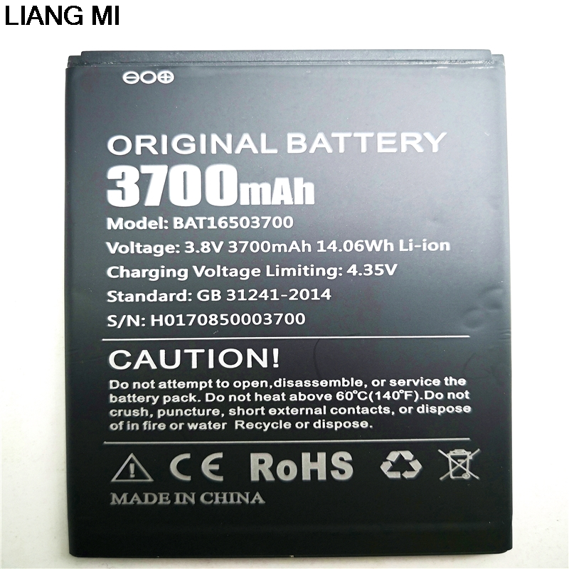 3.8V 3700mAh BAT16503700 cell phone <font><b>battery</b></font> For <font><b>DOOGEE</b></font> <font><b>X7</b></font> X7S For <font><b>DOOGEE</b></font> <font><b>X7</b></font> Pro <font><b>Battery</b></font> with phone stander for gift image