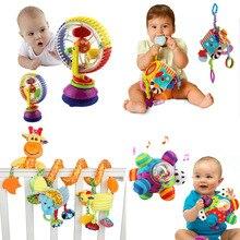 רך תינוק צעצועי 0 12 חודשים מוסיקה עריסה עגלת תליית ספירלת ילדים חושי חינוכי צעצוע יילוד רעשנים מיטת פעמון