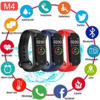Smart Band Fitness Trcker M4 Sport Armband Schrittzähler Herz Rate Blutdruck Bluetooth Gesundheit Wirst Wasserdichte Smartband