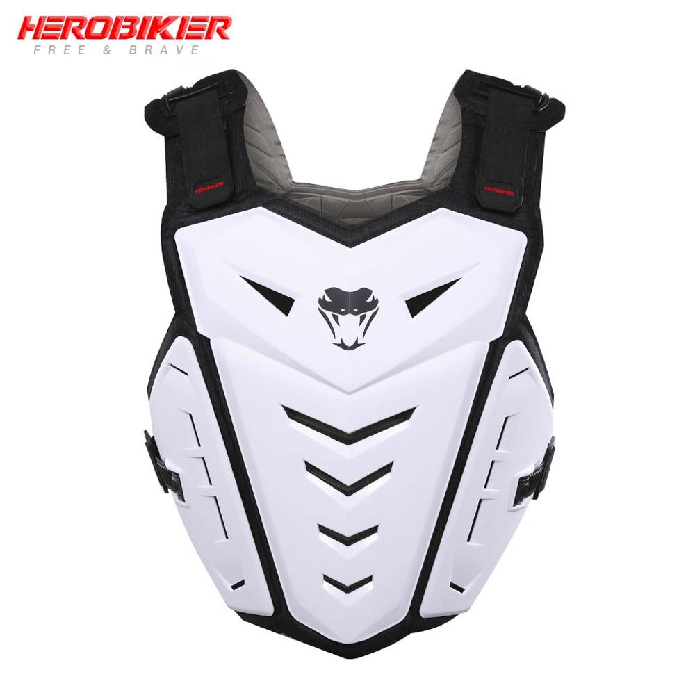 HEROBIKER Revestimento Da Motocicleta Colete Motocicleta Protetor Armadura Motocross Corrida Off-Road Equitação Armadura No Peito Colete de Proteção Engrenagem
