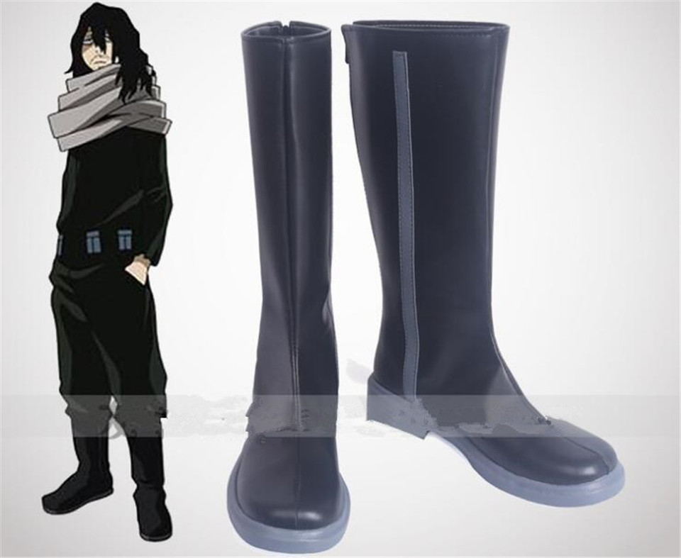 Boku no Hero Academia Shota Aizawa Eraser Head Cosplay Boots Shoes HH005