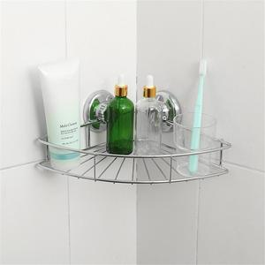 Image 4 - Bathroom Shelf Storage Rack Stainless Steel Shelf Punch Free Firm Shower Kitchen Fitted Wall Storage Organizer Rack