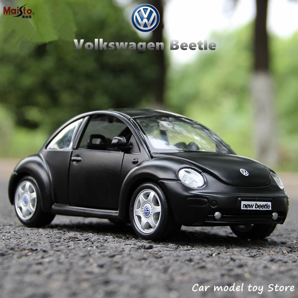 Maisto 1:24 Volkswagen Beetle Simulation Alloy Car Model Crafts Decoration Collection Toy Tools Gift