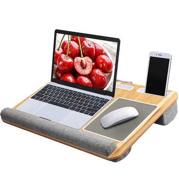 Multifunctional Laptop Desk Computer Table Portable Office Home Nap Pillow With Mouse Pad Suitable for Computers Under 17 Inches - DISCOUNT ITEM  21 OFF Furniture