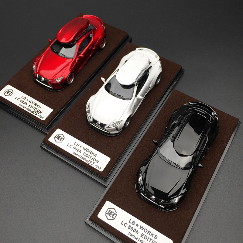 JEC 1:64 Liberty Walk LB Performance Lexus LB LC500 Resin Diecast Model Car