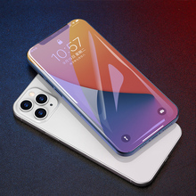 3PCS Full Cover Curved Protective Glass on For iPhone 11 12 pro Max Screen Protector Tempered Glass For iPhone X XR XS Max Glass