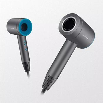Xiaomi ULESM Hair Dryer Secador De Cabelo Secador Blow Leafless Constant Temperature Control Anion Asciugacapelli 3 Modes 1500W