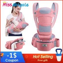 MissAbigale Ergonomic Baby Carrier Infant Baby Hipseat Waist Carrier F