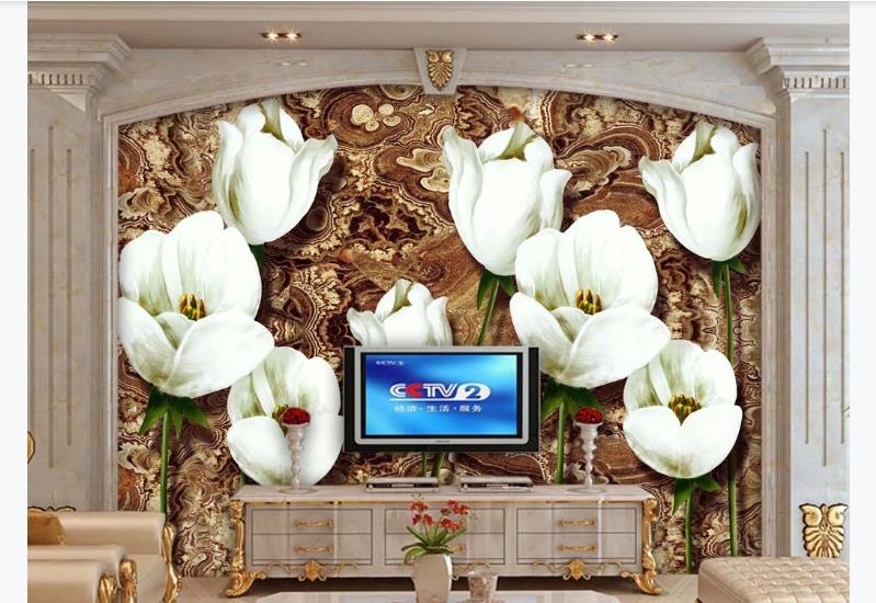 Chinese Luxury Wallpaper Living Room Bedroom Vintage Wallpaper Flower Design KTV Hotel Restaurant Decor Wall