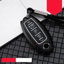 цена на zinc alloy key case for car For Nissan X-Trail 370Z Cube Micra Qashqai Juke Sheet Tiida Cube Quest Versa car styling Silica gel