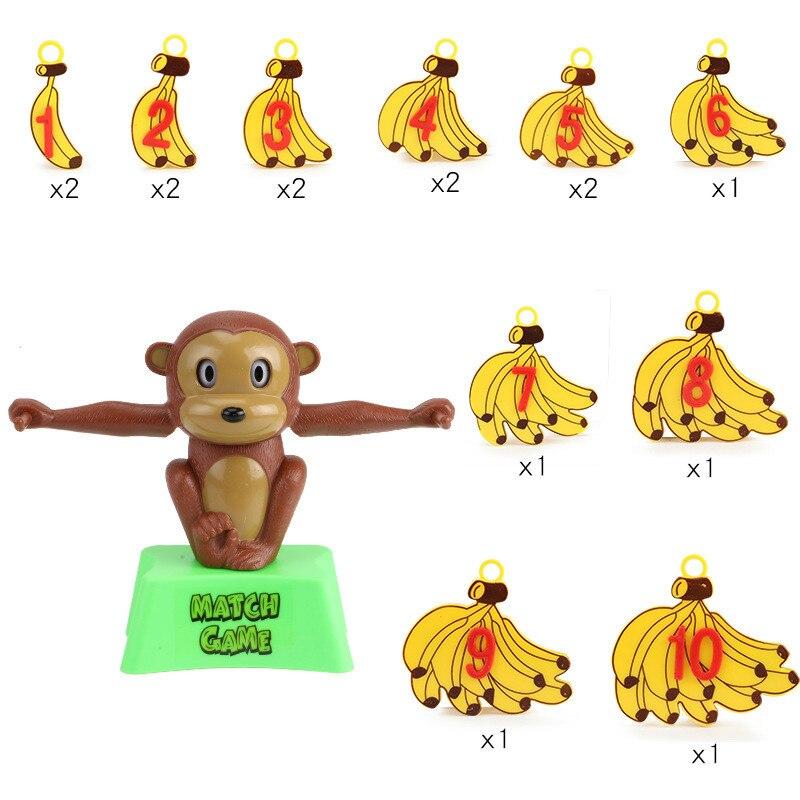 Monkey Math Match Game | Balancing Scale  6