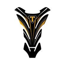 Moto Rilievo del Carro Armato Della Protezione Adesivi per Triumph TIGER 1200 EXPLORER Trofeo/SE STRADA TAZZA DOPPIA BONNEVILLE STRADA T120/nero