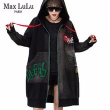 Max LuLu 2020 Spring European Fashion Windbreakers Ladies Vintage Patchwork Trench