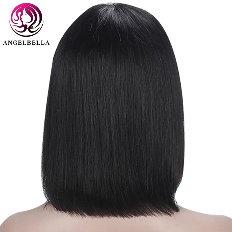 Shinelady-Remy-Human-Hair-Wigs-With-Bangs-Straight-Hair-Bob-Wig-8-16-Natural-Black-Color-(4)