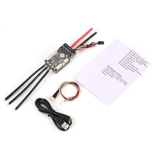 HGLRC FLIPSKY FSESC 50A V4.2 ESC Electronic Speed Control for Electric Skateboard RC Car Boat E-bike E-scooter Robot hglrc flipsky fsesc6 6 60a esc based upon vesc 6 aluminum case for electric skateboard rc car spare parts accessories