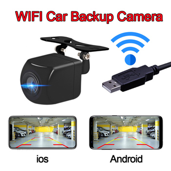 Front back Rear Mount WIFI AP Wireless DIY Backup Parking Camera Car USB Night Vision Wide Angle Video Recorder