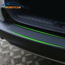 Xburstcar Auto für Ford Ecosport 2018   2020 Auto Stamm Tür Sill Platte Protector Hinten Stoßstange Wache Gummi Pad Trim abdeckung Streifen