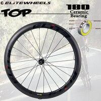 Elite Super Light Carbon Wheels TOP DT 180 Sinc Ceramic Bearing Hub 20 24H Only 262g Tubular Clincher Tubeless Cycling Wheelset