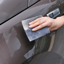 1pc novo eficaz borracha de risco do carro carro mágico scratch repair removedor pano nano superfície scuffs fix carro polimento suprimentos