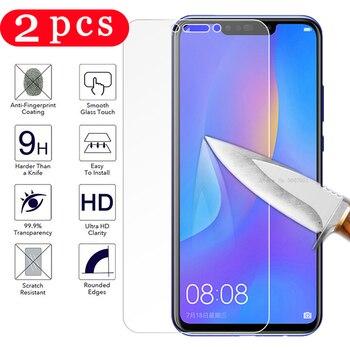 Перейти на Алиэкспресс и купить 2 шт закаленное стекло для huawei p smart plus 2018 2019 p smart Z Защитная пленка для экрана смартфона