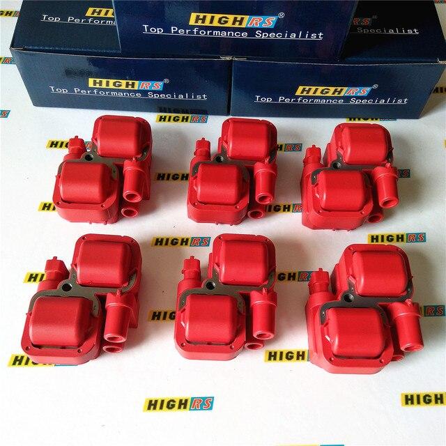 Bobinas de encendido de 6 funciones para Mercedes Benz C240, 2.6L, C280, 2.8L, C320, 3.2L, CLK320, E320, ML320, ML350, 3.7L, V6, SLK32, SLK320, S350