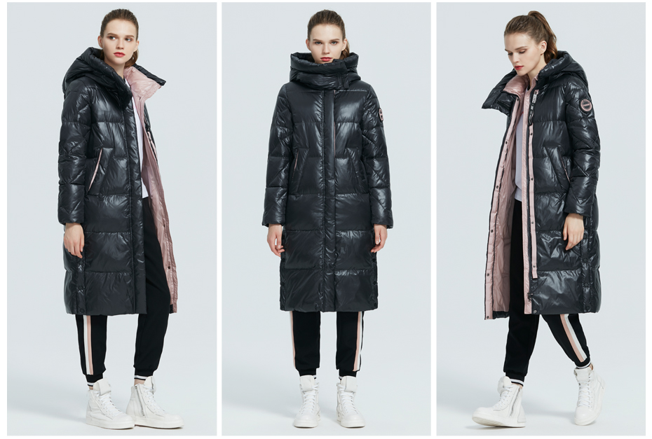 Fashionable Long High-Quality Winter Coat