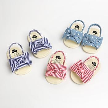 2020 nowe dziecięce sandały dziecięce maluch Party księżniczka sandały letnie buty na plażę letnie dziecięce buty dziecięce tanie i dobre opinie baby Mieszkanie z COTTON Płótno Lato Pasuje prawda na wymiar weź swój normalny rozmiar Baby girl